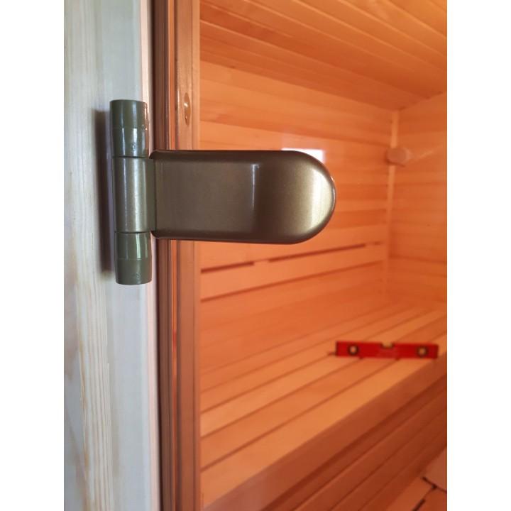 Двери бронза стекло стандарт 80х210