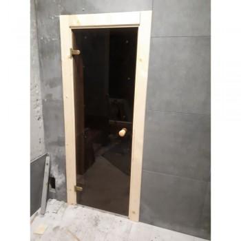 Двери 60х190 бронза матовая