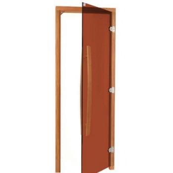 Дверь для бани и сауны SAWO 741-3SGD (кедр) 69х189 bronze