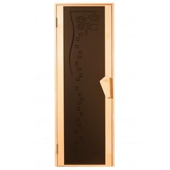Дверь для бани и сауны Tesli Comfort 80Х205