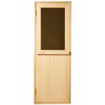 Дверь для бани и сауны Tesli MAX 70X190