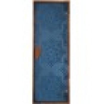 """Дверь для хаммам """"СЕЗАМ Blue"""""""