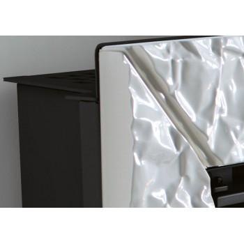 Каминная печь La Nordica Plasma 80:26 Kit Cornice Maiolica Origami Bianco