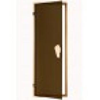 Дверь для бани и сауны Tesli Sateen 70X190