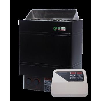 Электрокаменка  EcoFlameAMC 60-D  + пульт CON4