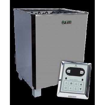 Электрокаменка  EcoFlame SAM D-12  + пульт CON6