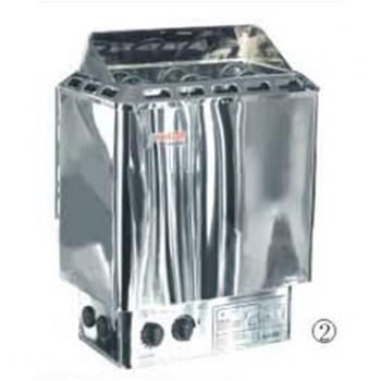 Электрокаменка Amazon AM90MI (Нерж.) в комплекте с выносным пультом