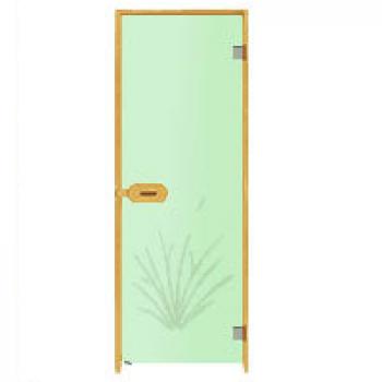 Двери для бани Harvia с рисунком