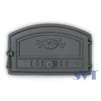 Дверца хлебной печи герметичная, сплошная, левая SVT 421