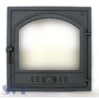 Каминная дверца герметичная, 1- створчатая, застекленная, правая SVT 405