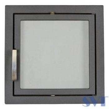 Каминная дверца герметичная, 1- створчатая, герметичная, симметричная SVT 501