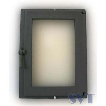 Каминная дверца герметичная, 1- створчатая, герметичная, симметричная SVT 505