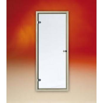 Двери для сауны Tylo Evole DGL 190х70 РАМА ИЗ ОСИНЫ, ПРОЗРАЧНОЕ СТЕКЛО