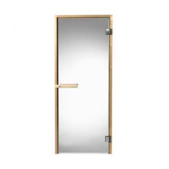 Двери для сауны Tylo Evole DGB 190х70 РАМА ИЗ ЕЛИ, ПРОЗРАЧНОЕ СТЕКЛО