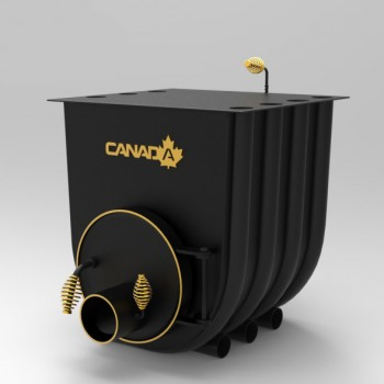 Печь калориферная Canada 02 с варочной поверхностью