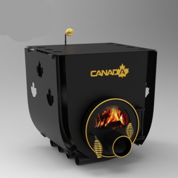Печь калориферная Canada 01 с варочной поверхностью S