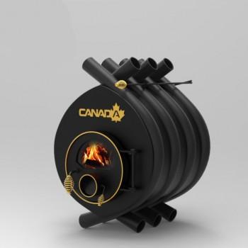 Дровяная печь калориферная Canada 00 классик S