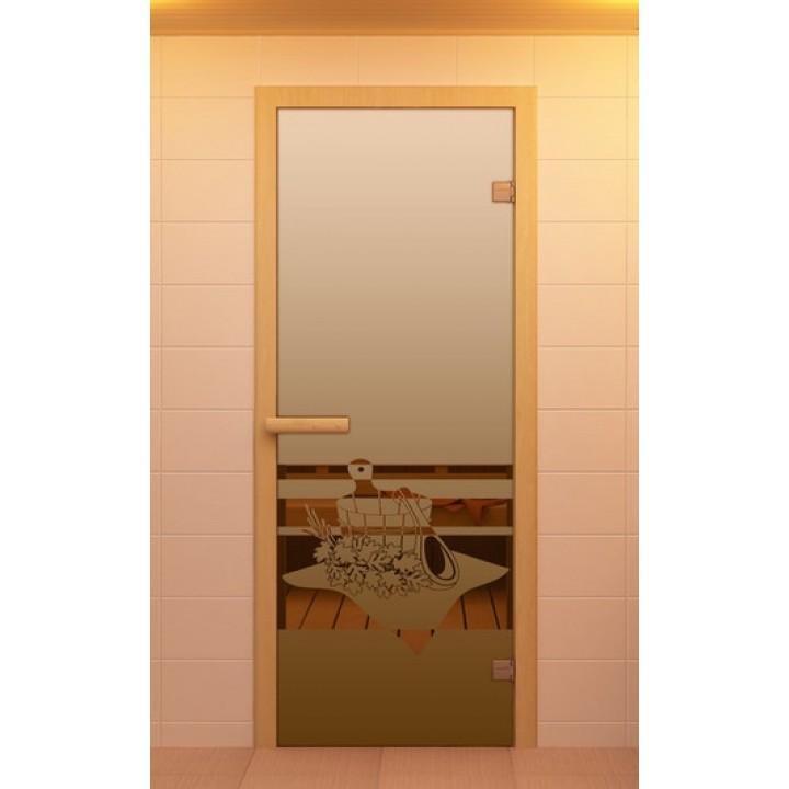 Двери Sauna Market 70x190 Банный вечер