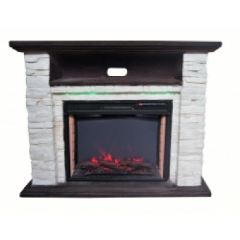 Каминокомплект Bonfire ELLISON Stone 24 Mood suite ( с подсветкой)
