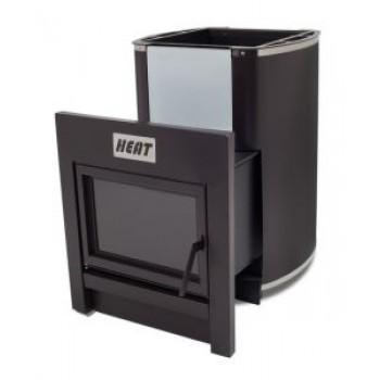Дровяная печь Heat 30 (Топка через стену)