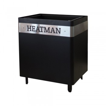 "Электрическая каменка для саун ""Heatman"" Cube Black 4 кВт / 220"