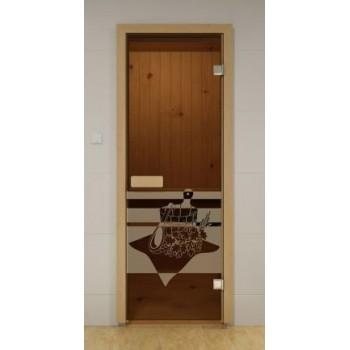 Двери для сауны ALDO 70х190 (Банный день)